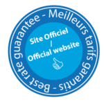 "Logo ""official website"" : best rate guarantee"