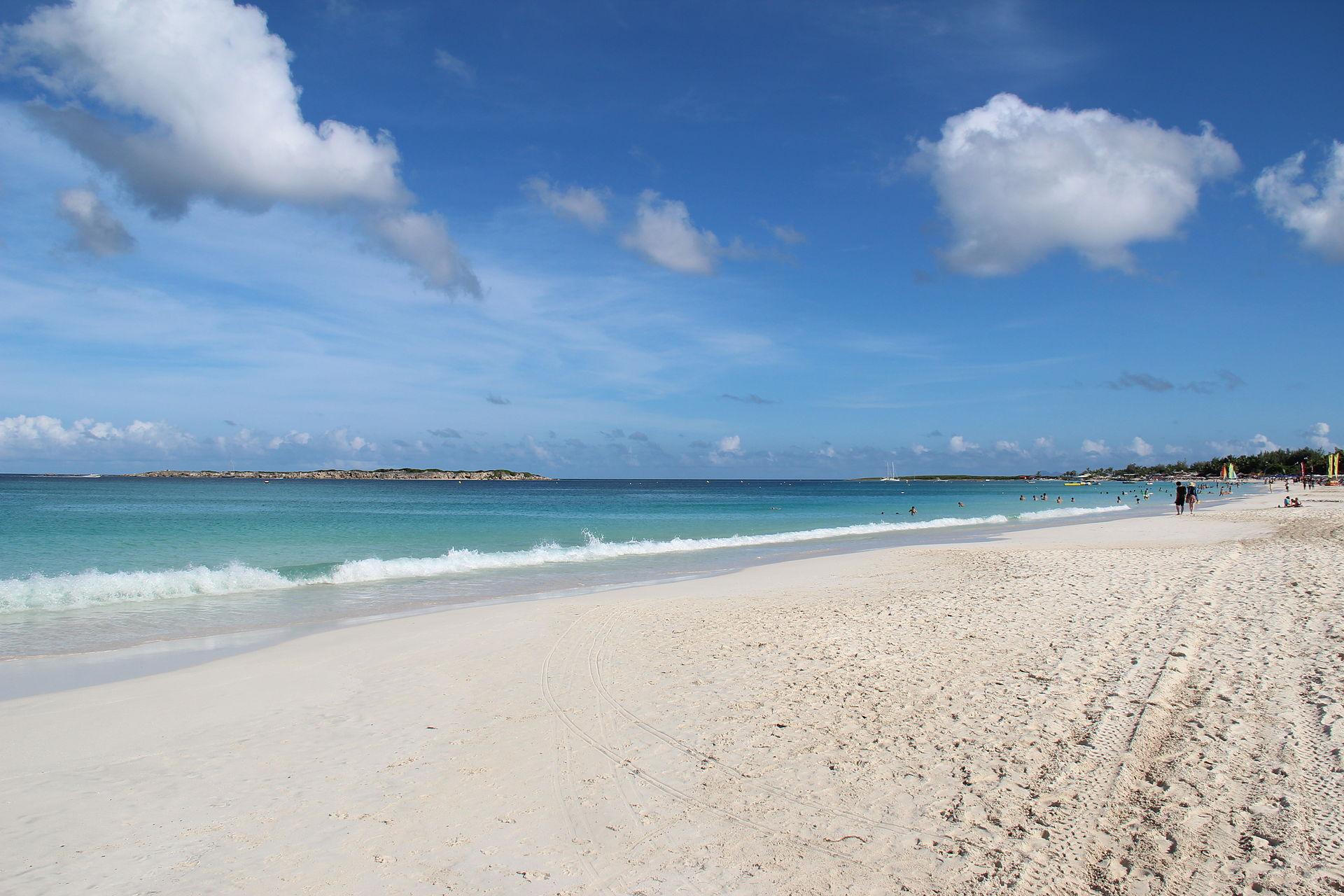 Orient bay beach - Plage de la baie orientale - Saint Martin / Sint Marteen / SXM