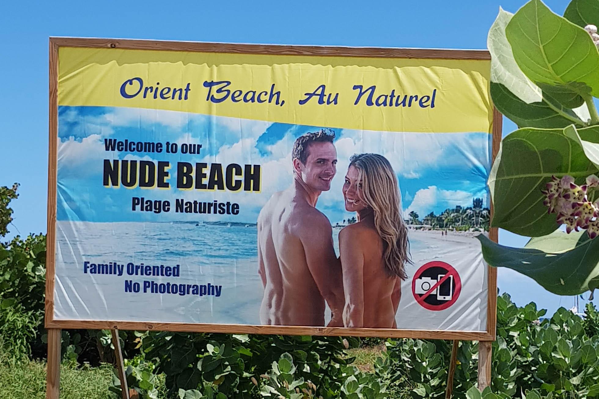 Affiche Orient Beach - Nude Beach